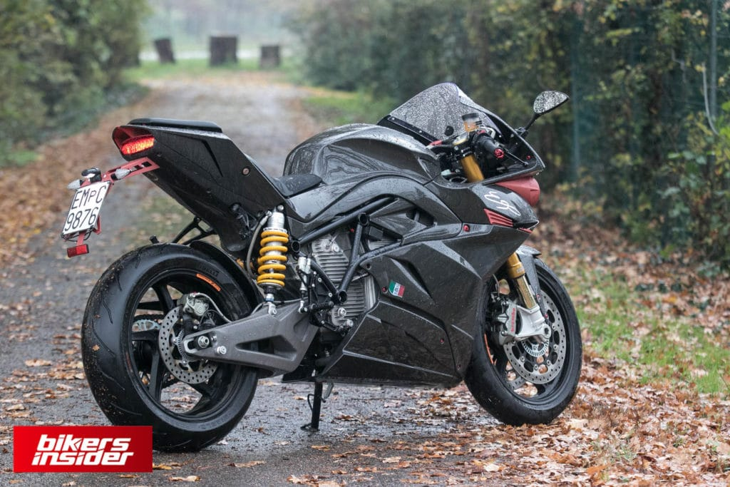 Energica EGO is a powerhouse and a sporty bike well worth the price.