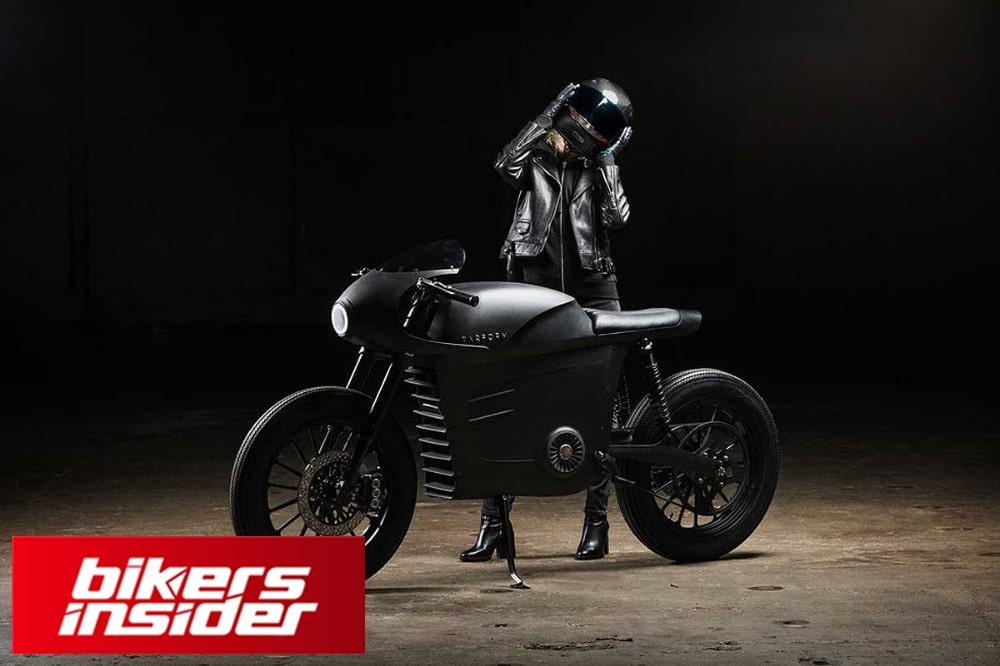Tarform is surely a looker, inspired by the cafe racer design.