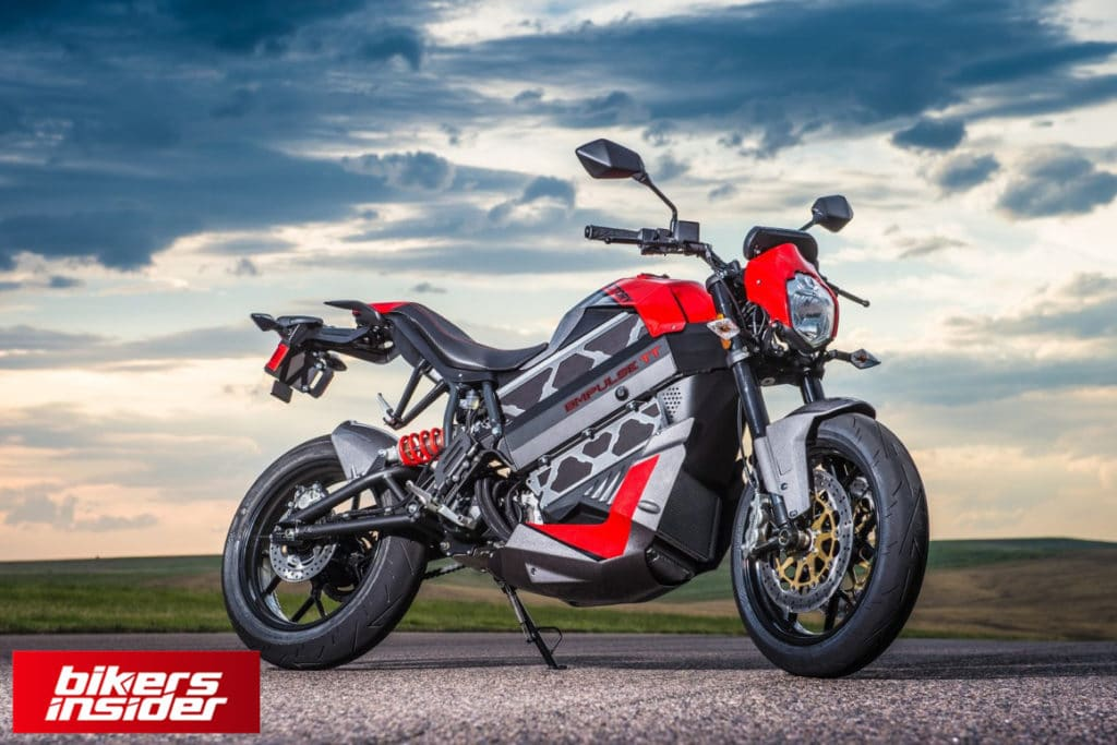 Victory Empulse TT sports an elegant look that makes it a desirable electric motorcycle.
