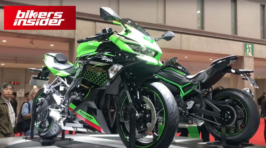 The Redline of the New Kawasaki ZX-25R is Set at 17,000 RPM!