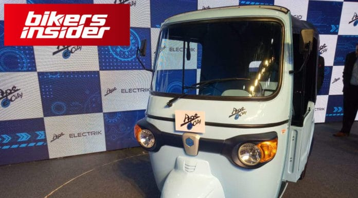 Piaggio Enters the EV Market With the Ape E-City!