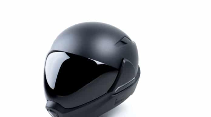 Cross Helmet X1 - Futuristic Smart Motorcycle Helmet