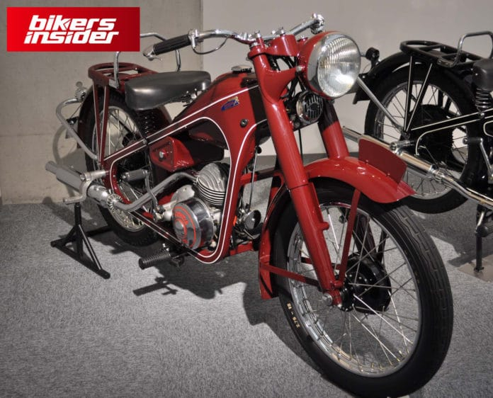 Honda Dream D-Type is the first Honda motorcycle.