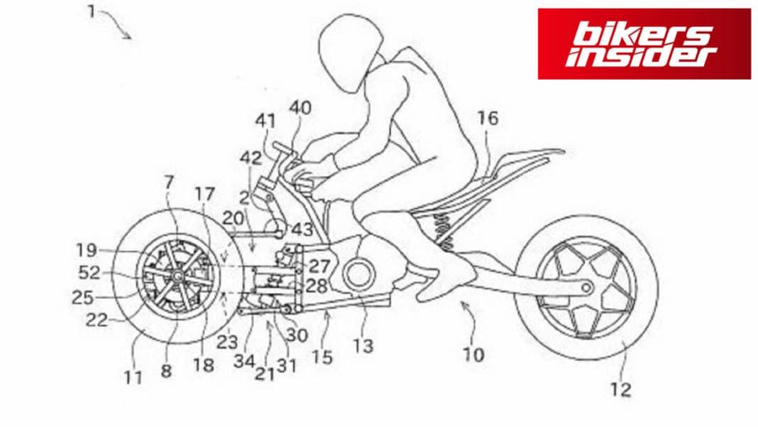 Kawasaki Has A Three-Wheeled Bike In The Works!