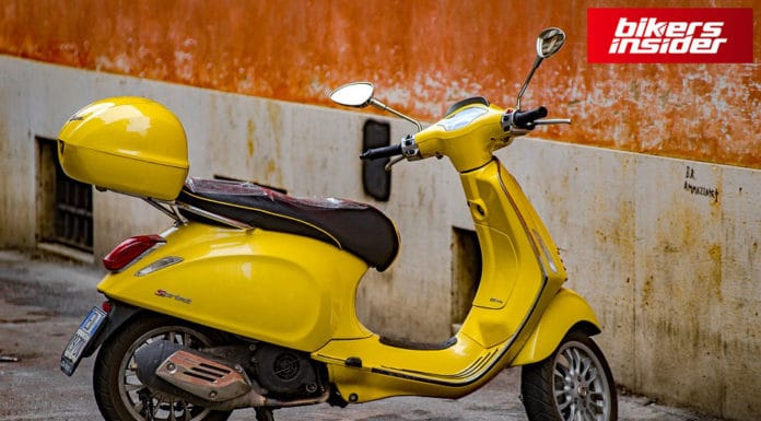 From Now, You Can Buy A New Vespa Scooter Online!