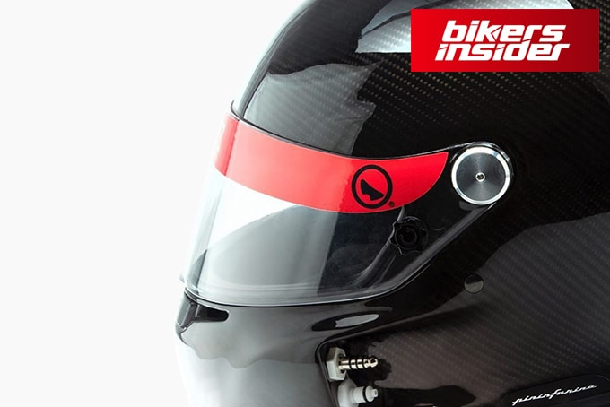 Roux Helmets and Pininfarina Designed A Water-Cooled Helmet!