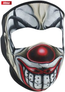 Clown Face Mask For Motorcycle Helmet