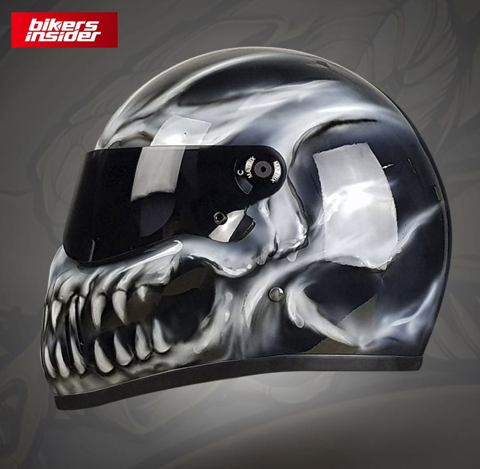 A Brief History and Meaning of Skull Motorcycle Helmet Design