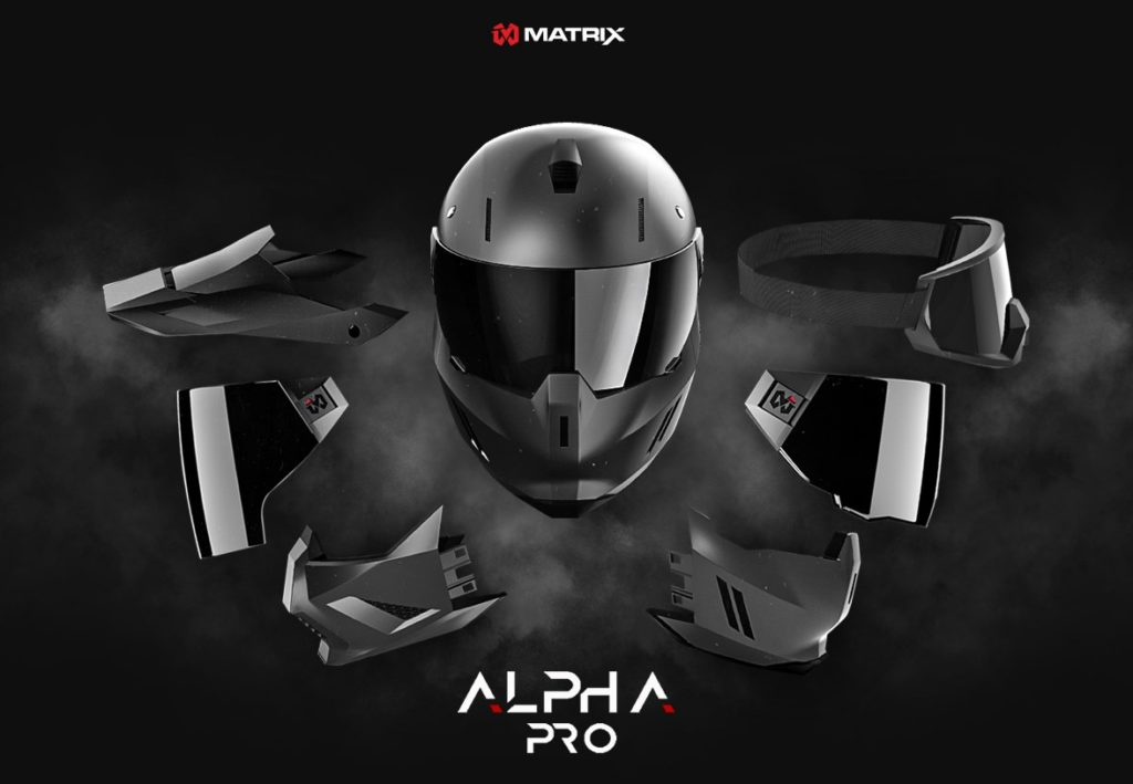 Matrix Alpha Pro offers a lot on the modularity.