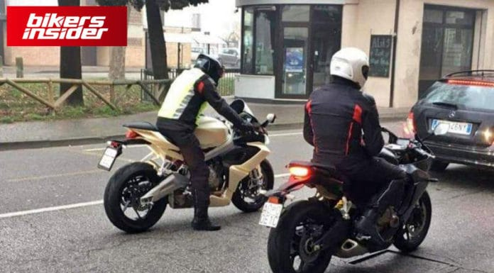 Aprilia RS 660 Seen Out Testing!