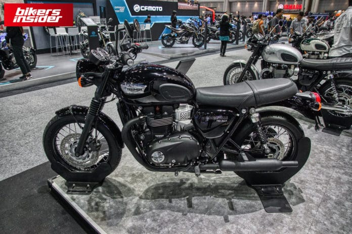 Triumph Launches The Bonneville T100 And T120 Black Editions In India!