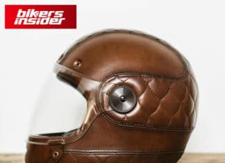 Leather Motorcycle Helmets