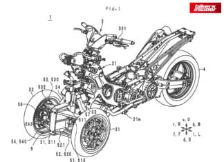 Yamaha Patents A New TMAX-Inspired Three-Wheeler!
