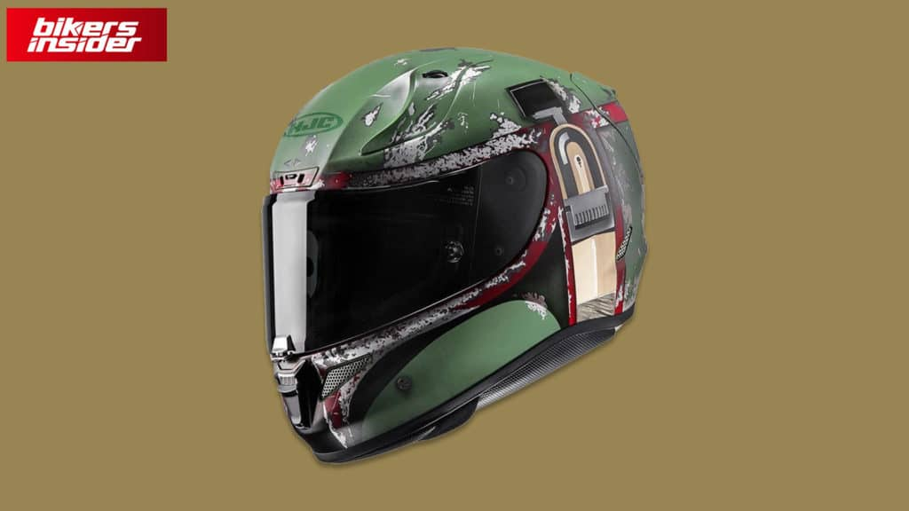 Check out our review of the Boba Fett HJC RPHA 11 motorcycle helmet!