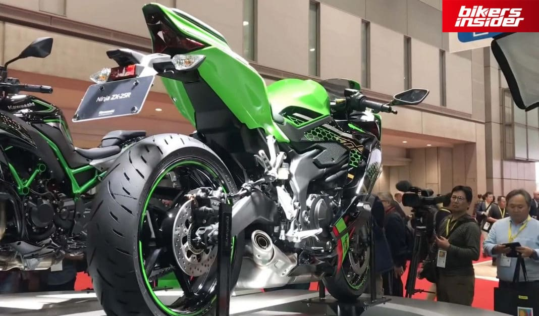 Kawasaki Will Formally Announce The ZX-25R Motorcycle On July 10!