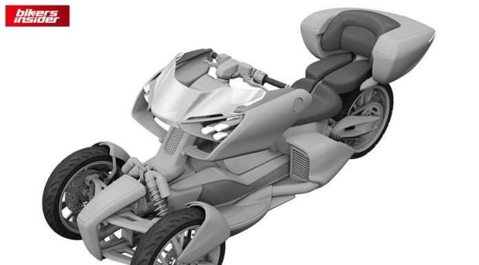 Leaks Show That Yamaha Is Working On A New, Futuristic Three-Wheeler!
