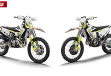 Husqvarna Shows Off 2021 TE300i And FE 350 Rockstar Edition Enduro Bikes!