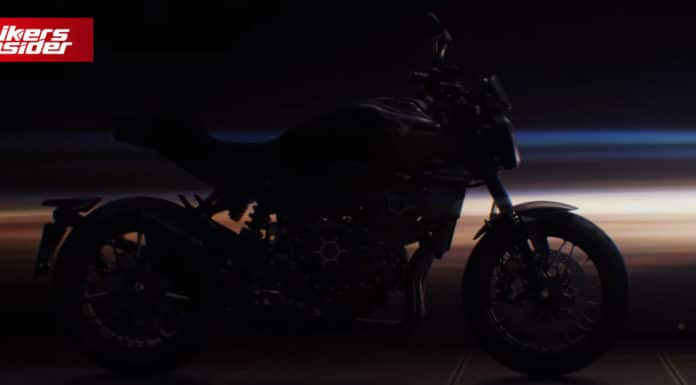 Teaser For The New Honda 2021 CB 1000 R!