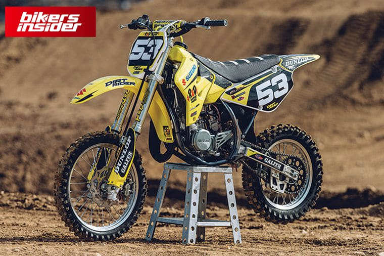 Suzuki RM85 is certainly one of the most optimized dirt bikes for teenagers.