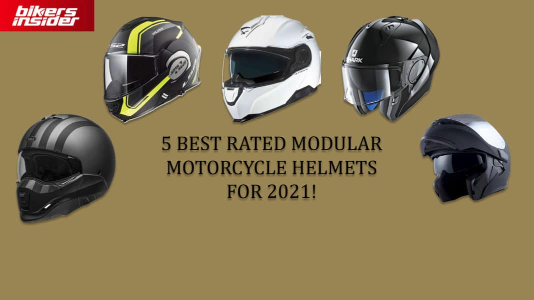 5 Best Rated Modular Motorcycle Helmets For 2021!