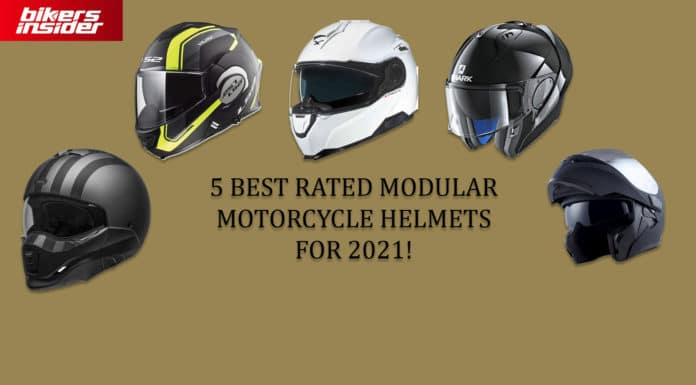 5 Best Rated Modular Motorcycle Helmets In 2020!