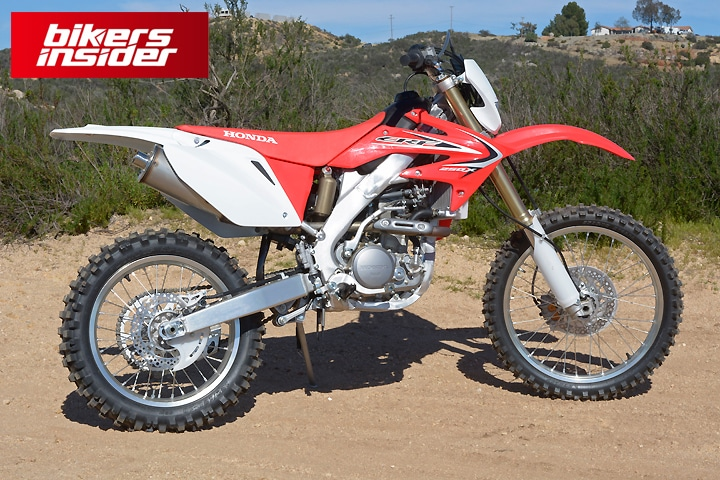 Honda CRF250X is certainly the best 250cc dirt bike for beginners.