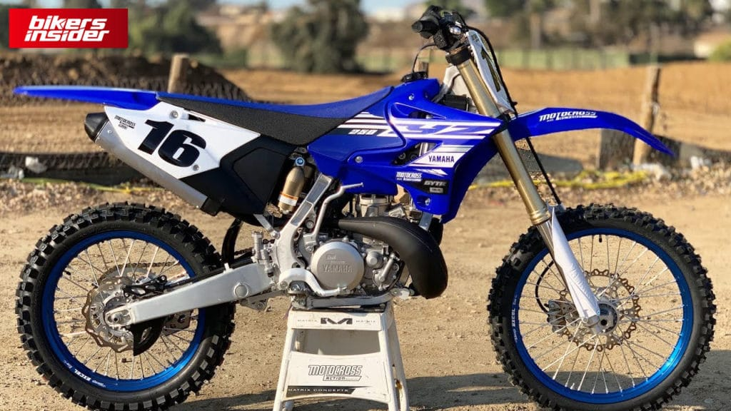 Yamaha YZ250 is hands-down, the best dirt bike for adult beginners.