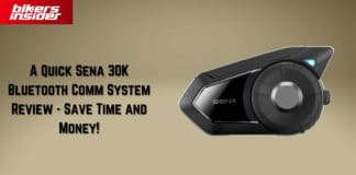 A Quick Sena 30K Bluetooth Comm System Review - Save Time and Money!