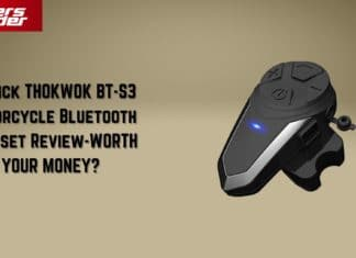 A Quick THOKWOK BT-S3 Motorcycle Bluetooth Headset Review