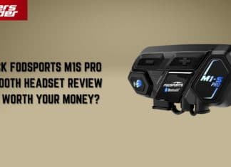 A Quick Fodsports M1S Pro Bluetooth Comm System Review!