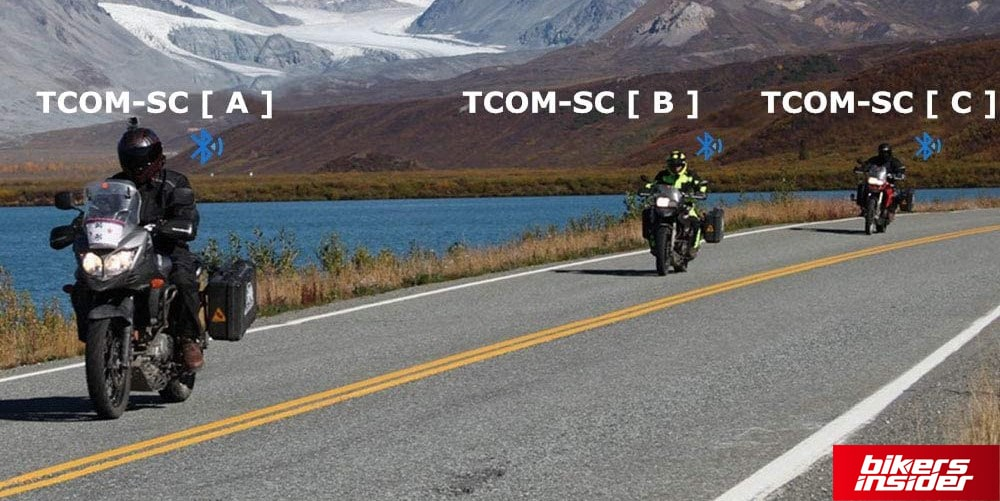 FreedConn TCOM-SC features a maximum connection range of 800 meters.