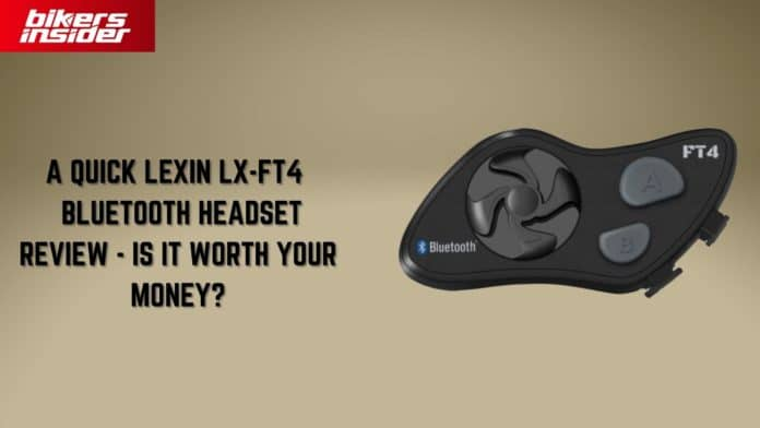 A Quick Lexin LX-FT4 Bluetooth Headset Review!