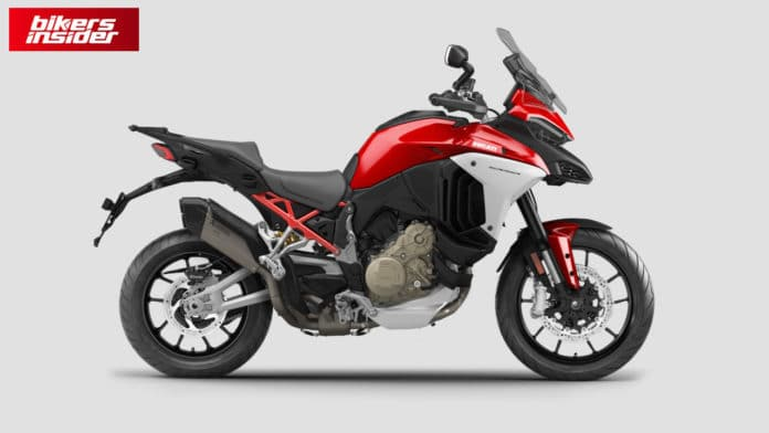 Ducati 2021 Multistrada V4 Will Come With Two Akrapovic Exhaust Options!