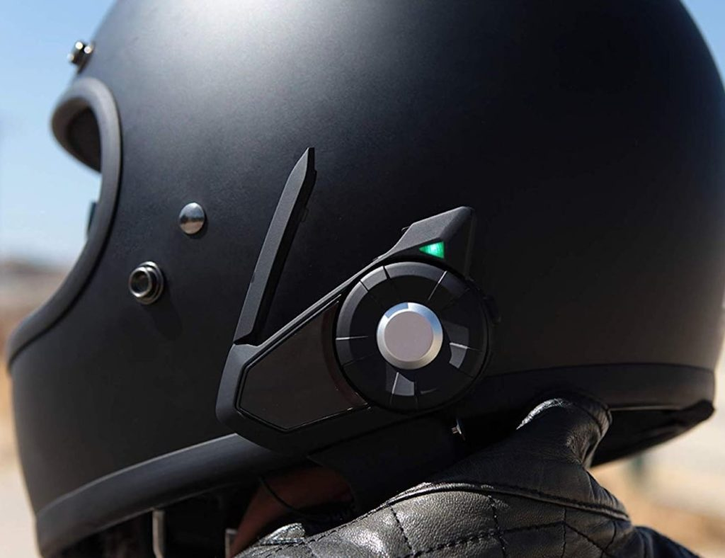 Sena 30K is certainly one of the best bluetooth motorcycle headsets of 2021 when it comes to intercom function.