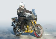 Aprilia Tuareg 660 Spotted Out Testing!