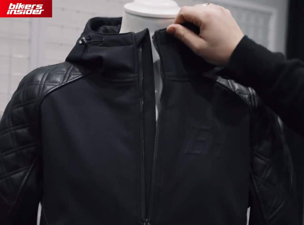 Predator jacket has a zip guard underneath the front zipper to prevent air from getting inside and leakages.