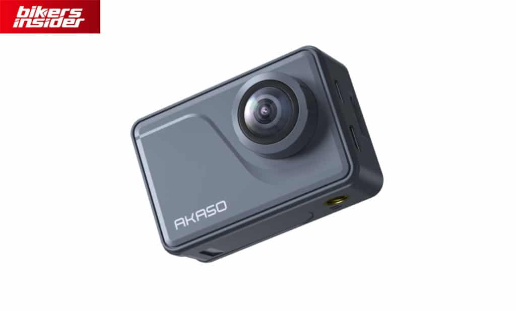 The front side of the V50 Pro action camera.
