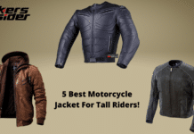 5 Best Motorcycle Jacket For Tall Riders!