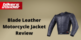 Blade Leather Motorcycle Jacket Review