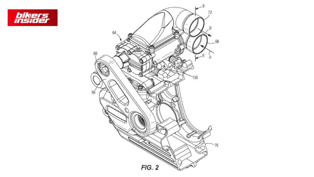 2nd Patent of Harley-Davidson Supercharged Engine