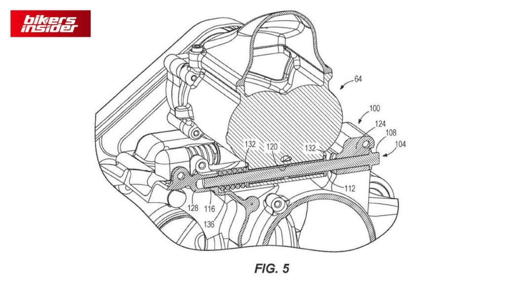 5th Patent of Harley-Davidson Supercharged Engine