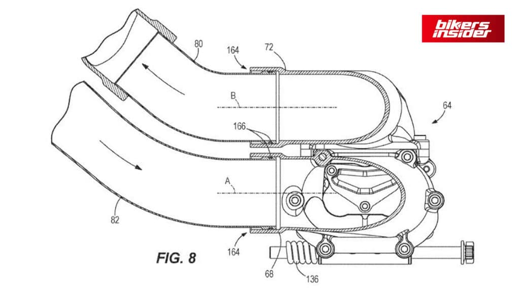 8th Patent of Harley-Davidson Supercharged Engine