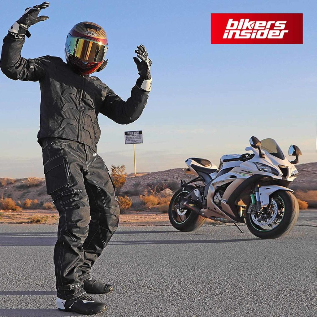 HHR textile motorcycle jacket features a robust, quality build.