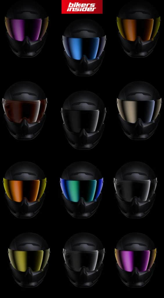 Here are all the currently available Ruroc Atlas 3.0 tinted visors.