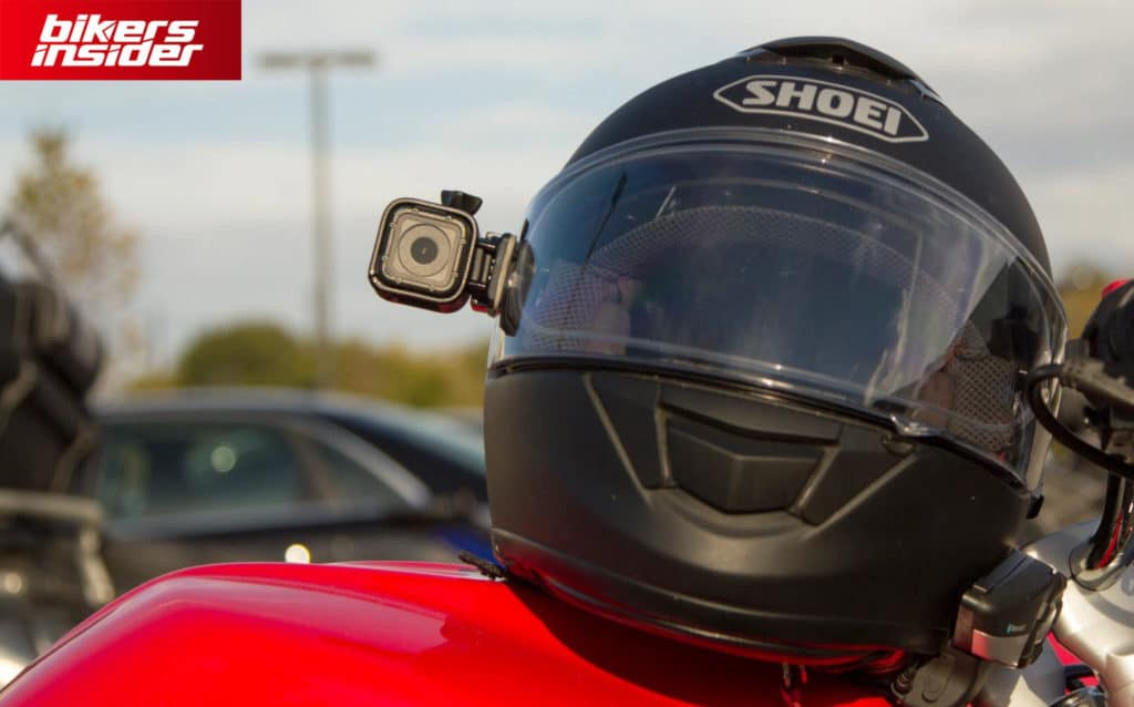 Action camera is a great accessory to film all your rides.