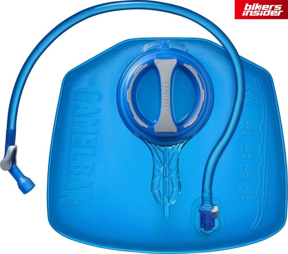 The CamelBAK removable hydration pack is awesome, as it offers lumbar support.
