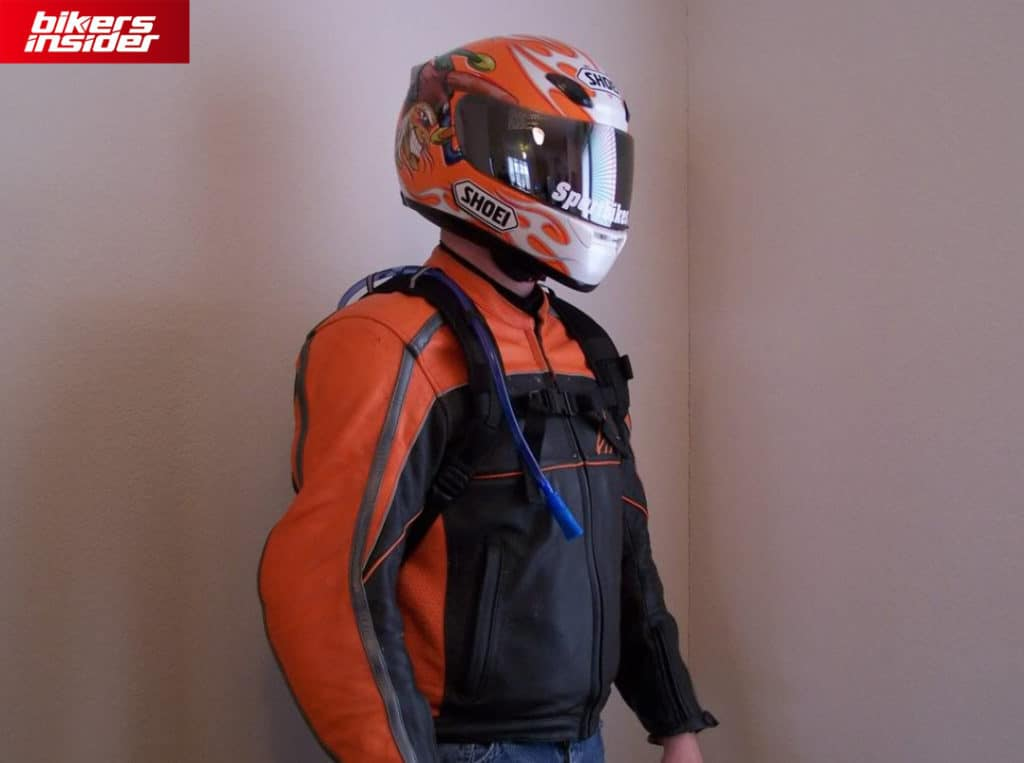 Hydration pack is one of the most innovative accessories for motorcycle riders.