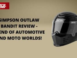 Simpson Outlaw Bandit Review - Blend Of Automotive And Moto Worlds!