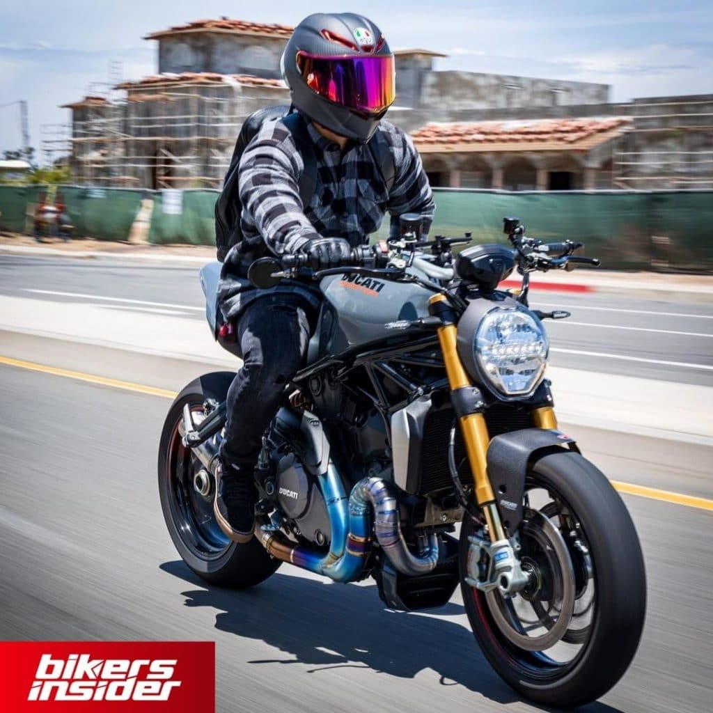 AGV K6 is the quietest motorcycle helmet on the market!